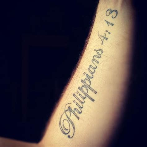 phil 4 13 tattoo philippians 4 13 foot www imgkid the image
