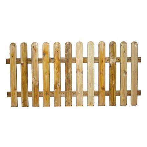 staccionata in legno per giardino staccionata in legno impregnato in autoclave 180x100h cm