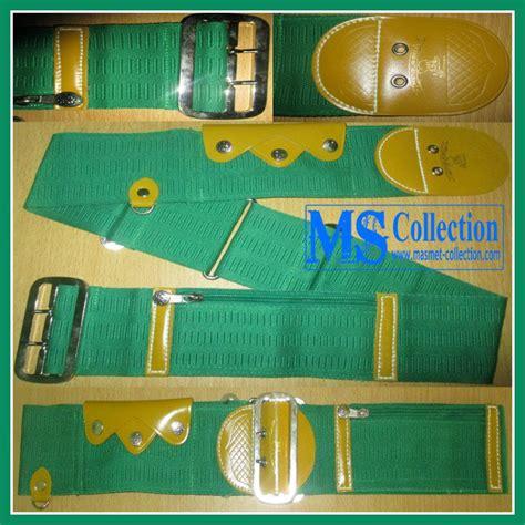 jual ikat pinggang haji sabuk pangsi betawi hijau harga murah bogor oleh toko ms collection