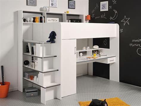 etagenbett mit schreibtisch etagenbett wei 223 hochbett 245x201x122cm schreibtisch