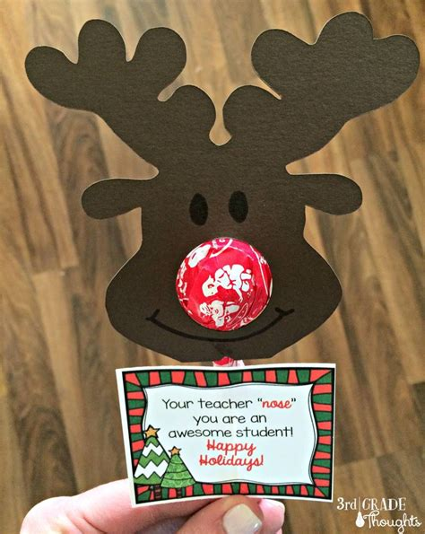 inexpensive christmas gifts for school parents ho ho gifts for your students 2014 link up 3rd grade thoughts