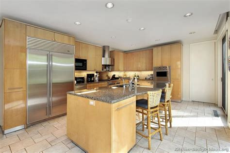 Kitchen Backsplash Ideas With Light Cabinets Pictures Of Kitchens Modern Light Wood Kitchen