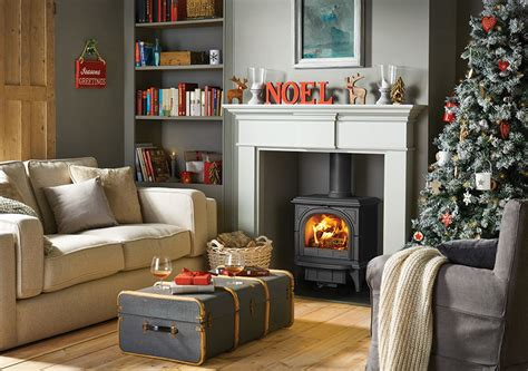 dress  fireplace  impress  christmas stovax gazco