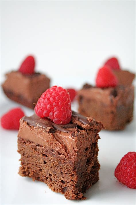 raspberry chocolate chocolate raspberry brownies recipe dishmaps
