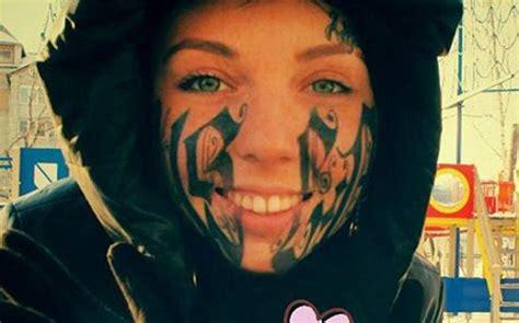 tattoo eye gang face tattoo free tattoo design