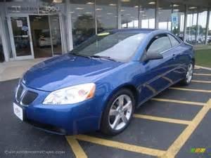 Blue Pontiac G6 2006 Pontiac G6 Gt Convertible In Electric Blue Metallic