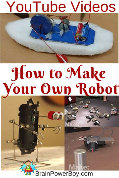 home robotics maker inspired projects for building your own robots books make your own robot easy robot projects can build