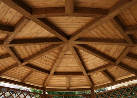 gazebo ottagonale in legno vivereverde gazebo in legno gazebo in legno lamellare