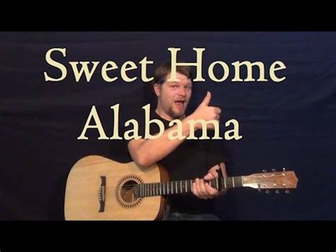 sweet home alabama lynyrd skynyrd guitar lesson how to