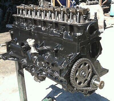 jeep cherokee xj motor  engine amc rebuilt