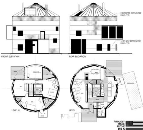 grain bin floor plans house in a can austin mergold archdaily