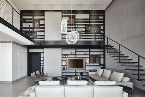 design of duplex apartment contemporary duplex in ramat hasharon displaying an