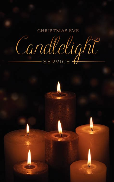 Christmas Eve Service Woodburn Christian Church Candle Light Service
