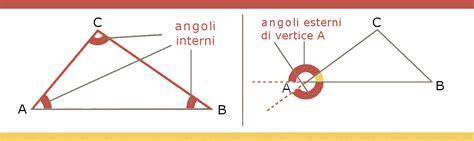 angoli interni triangoli