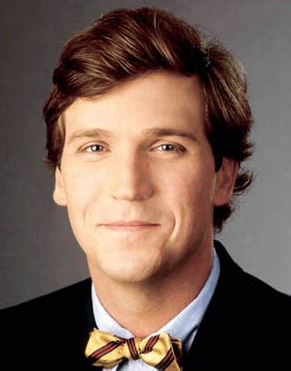 is tucker carlson s hair real tucker carlson and paul begala featured in national