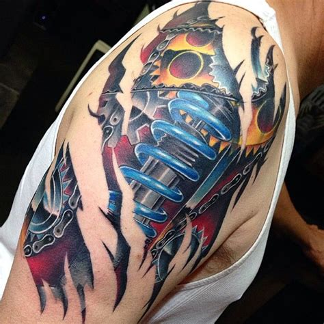 biomechanical tattoo quebec 72 best chevy tattoo ideas images on pinterest chevy