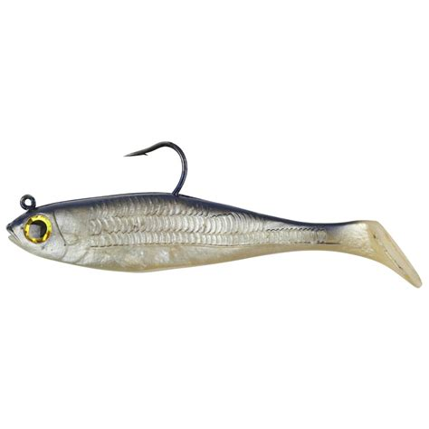 L Shad by 5 Pk Berkley 174 Powerbait 174 Pre Rigged Swim Shad Bait