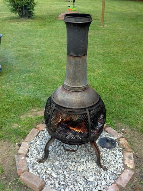 brick chiminea 17 best images about chiminea s on outdoor