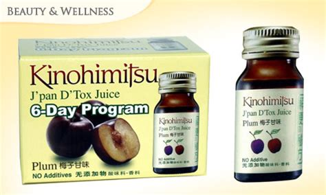 Japanese Detox by 15 Kinohimitsu Japan Detox Plum Juice 6 Day Program