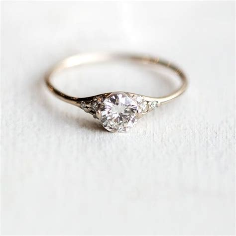 15 perfectly delicate engagement rings for the low key