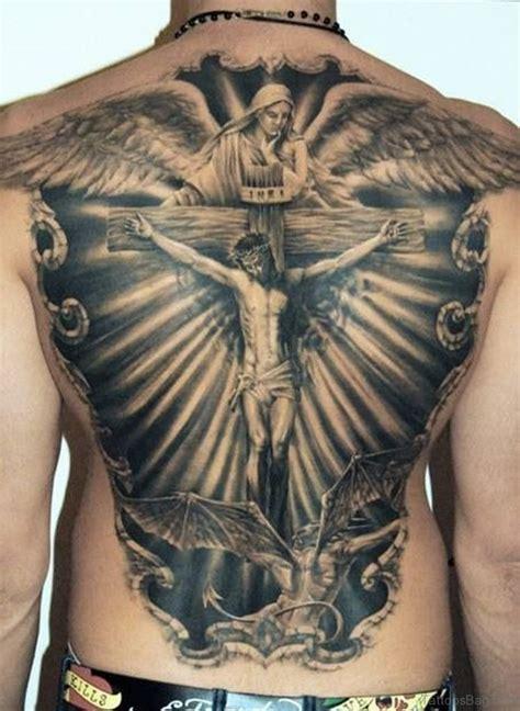 jesus cross tattoos on back 54 graceful religious tattoos on back