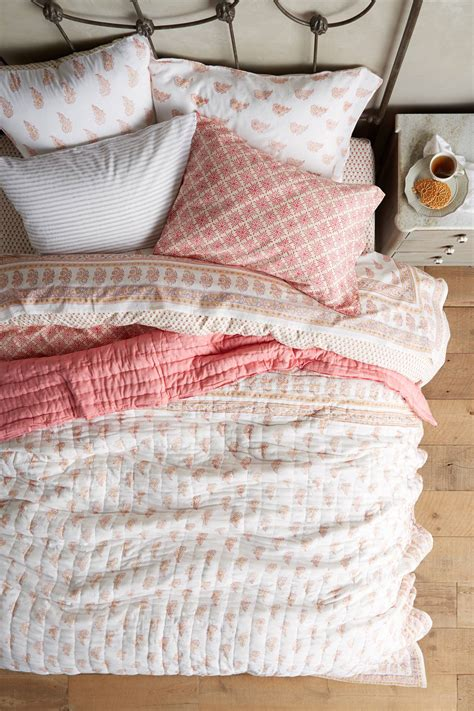 kerry cassill bedding kerry cassill rust booti quilt anthropologie