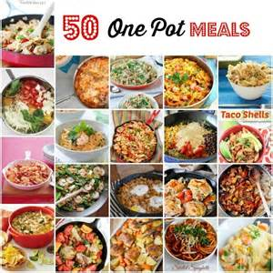 50 one pot meals for busy nights mom fabulous