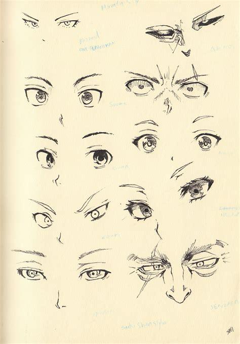 anime eyes nose sketch 20 eyes and nose by shiryu37 on deviantart