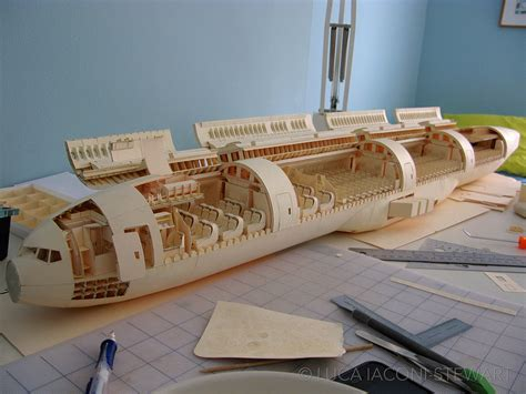 Paper Models To Make - a 1 60 scale boeing 777 built entirely from paper manilla