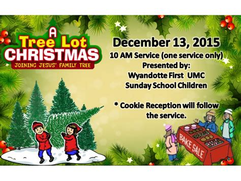 a tree lot christmas children s christmas musical