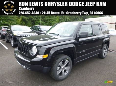 jeep patriot 2016 black 2016 black jeep patriot latitude 4x4 106758917 photo 12