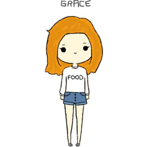 doodle para xo polyvore