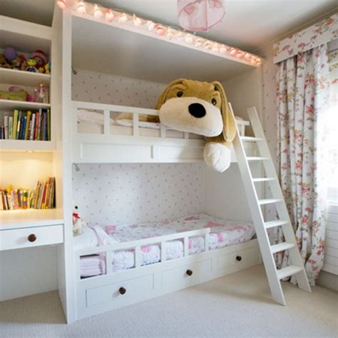 Bedroom Designs For Bunk Beds by Girls Room Bunk Beds Girls Bedrooms Housetohome Co Uk