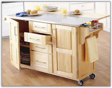 Rolling Kitchen Island Ideas Granite Kitchen Island On Wheels Home Design Ideas