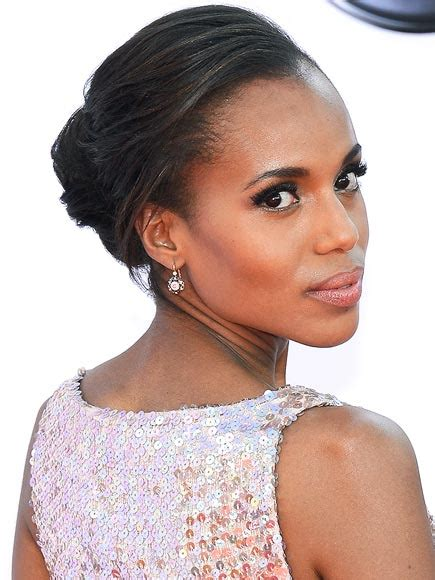 a wanded updo lipstick lashes updos emmys beauty breakdown people com