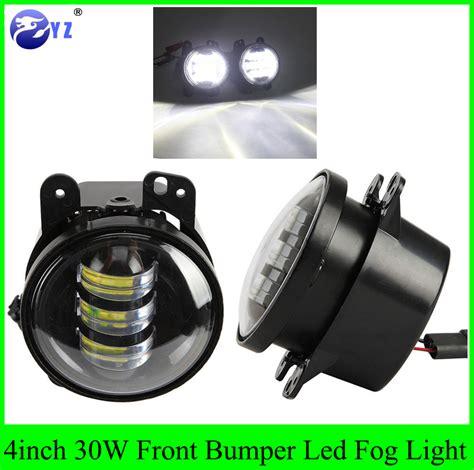 Jeep Jk Led Fog Lights 2pcs 4 Quot 4inch 30w Front Bumper Led Fog Light For Jeep