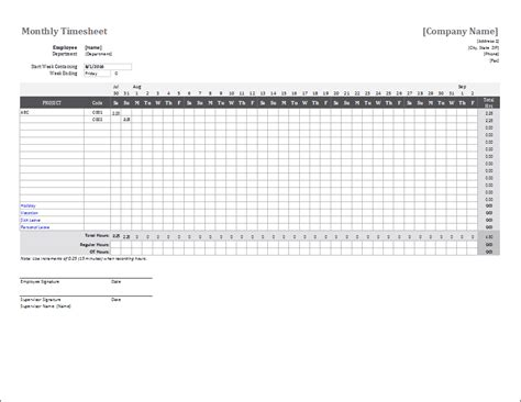 excel employee timesheet templates instathreds co
