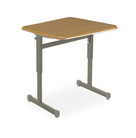 Plastic Desk by Smith System 01601 Silhouette School Desk Plastic Top