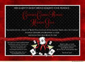 casino royale birthday invitation martini bond celebrate