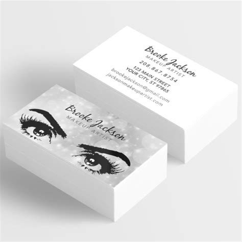 Free Makeup Artist Business Cards