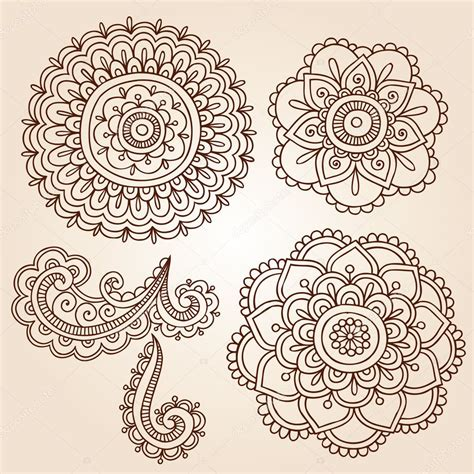 paisley flower tattoo designs tattoos henna mehndi on henna mehndi and