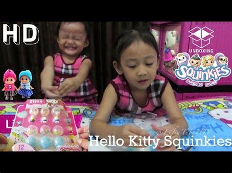 Mainan Anak Hellokitty Skateboard mainan anak gelembung balon sabun spongebob let s pla doovi