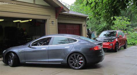 Tesla Test Drive Bmw Photo Gallery