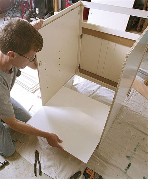 how to assemble kitchen cabinets ready to assemble cabinets homebuilding