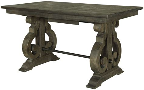 bellamy dining table bellamy weathered pine rectangular counter dining