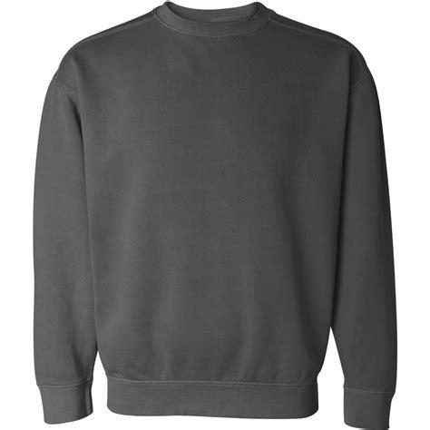 comfort colors crewneck comfort colors 1566 garment dyed ringspun crewneck