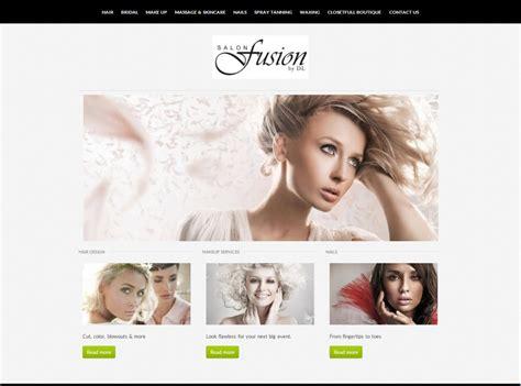 exles of hair websites hair salon website development feasterville website
