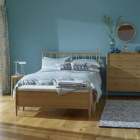 Ercol Bed Frame Buy Ercol For Lewis Shalstone Bed Frame Oak King Size Lewis