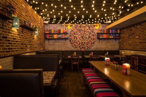Restaurant Decor Styles by Horchata Nyc Delivers Modern Mexican Food Authentic