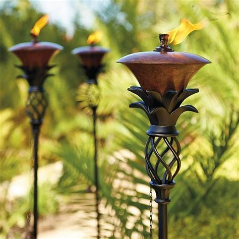 backyard torches lanterns 152 best images about island girl cottage on